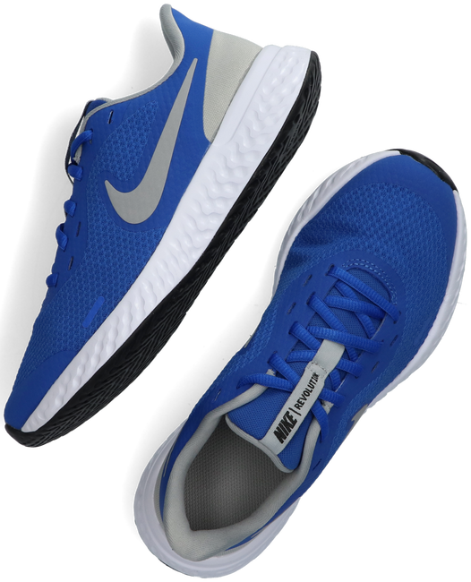 Blaue NIKE Sneaker low REVOLUTION 5 (GS)  - large