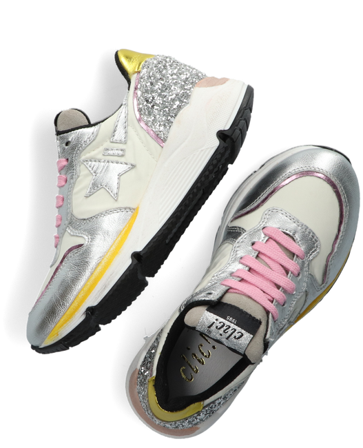 Weiße CLIC! Sneaker low CL-20337  - large