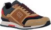 Camelfarbene TOMMY HILFIGER Sneaker low DORIAN 1C  - small
