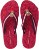 Rote TOMMY HILFIGER Pantolette COMFORT LOW BEACH SANDAL - small