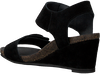 Schwarze CA'SHOTT Sandalen 8029  - small