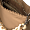Beige HVISK Handtasche AMBLE NYLON RECYCLED SMALL  - small