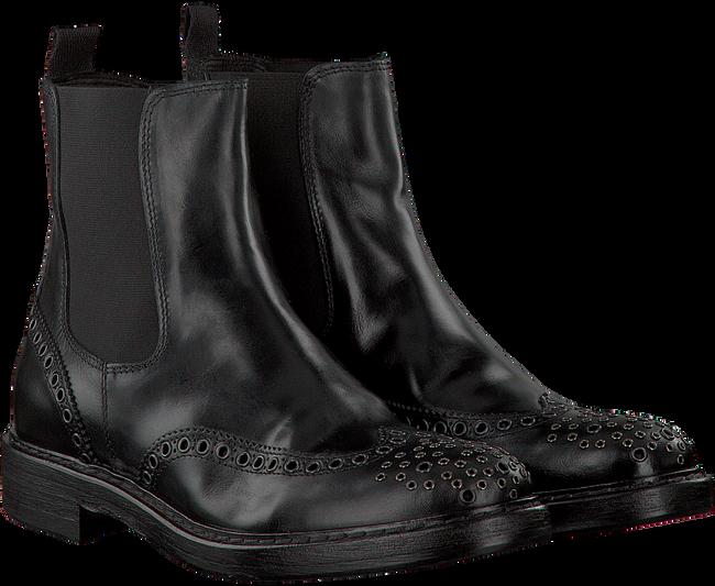 schwarze hundred 100 chelsea boots w848 1 schuhmode online. Black Bedroom Furniture Sets. Home Design Ideas