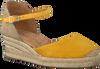 Gelbe UNISA Espadrilles CISCA - small