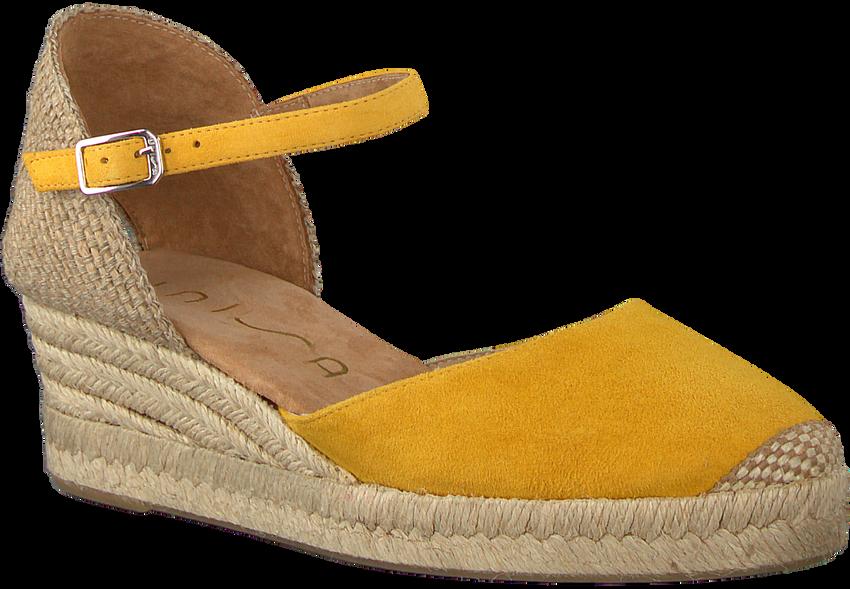 Gelbe UNISA Espadrilles CISCA - larger