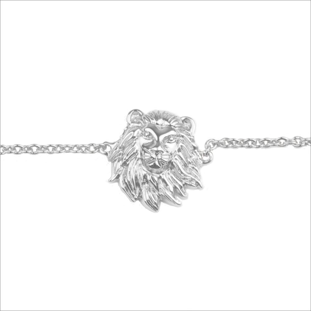 Silberne ALLTHELUCKINTHEWORLD Armband SOUVENIR BRACELET LION VuPZ4