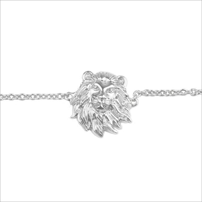 Silberne ALLTHELUCKINTHEWORLD Armband SOUVENIR BRACELET LION - large