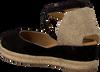 Schwarze UNISA Espadrilles CAUDE  - small