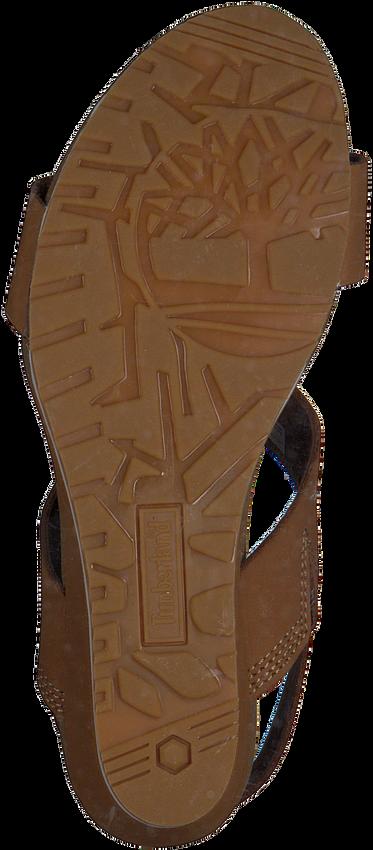 Braune TIMBERLAND Sandalen CAPRI SUNSET WEDGE - larger