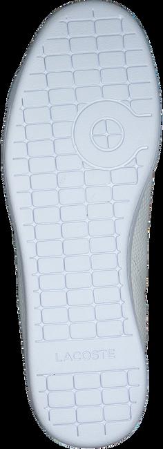 Weiße LACOSTE Sneaker CARNABY EVO HEREN - large