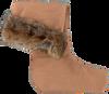 Braune DUBARRY Socken CHINCILLA - small