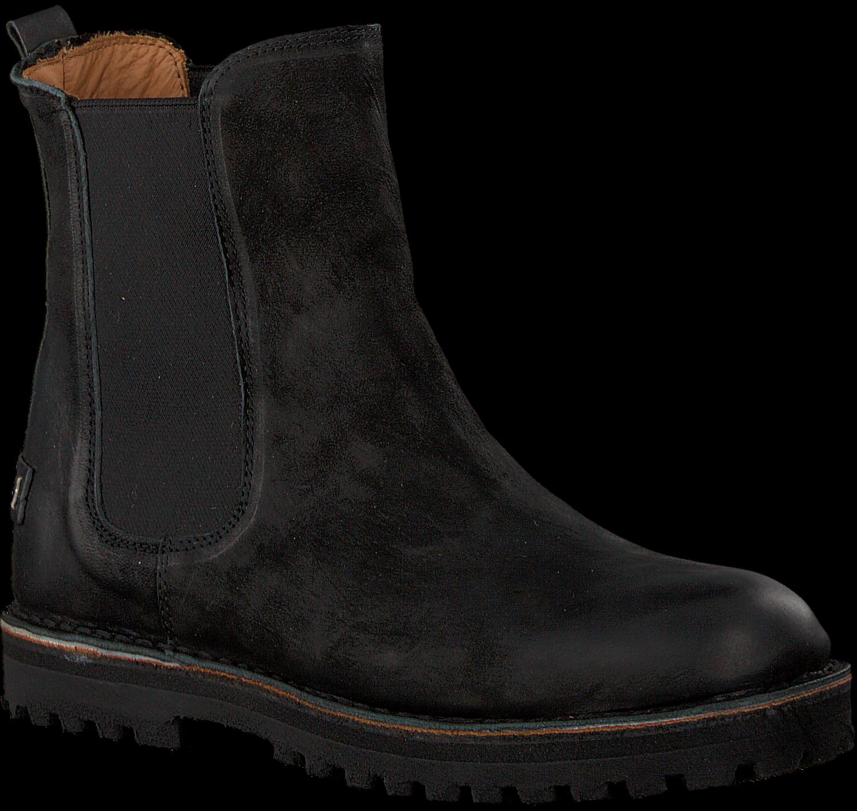 101a435ccfad92 Schwarze SHABBIES Chelsea Boots 181020148 - Omoda.de