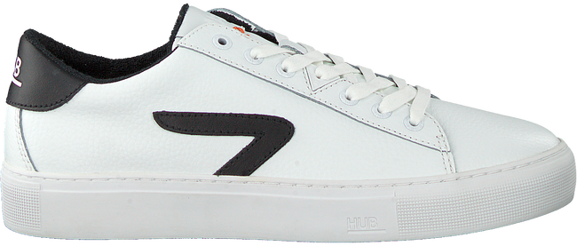 Weiße HUB Sneaker low HOOK-Z  - large
