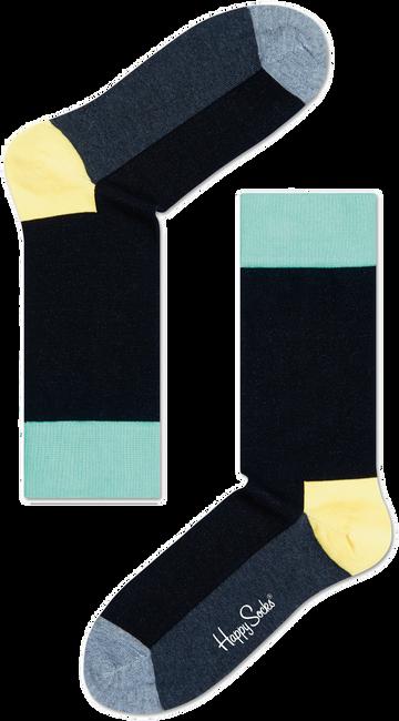 Schwarze HAPPY SOCKS Socken FIVE COLOUR - large