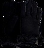 Schwarze UGG Handschuhe SHORTY GLOVE W/TRIM  - medium