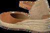Cognacfarbene UNISA Espadrilles CISCA - small
