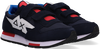 Blaue SUN68 Sneaker low BOYS NIKI NYLON SOLID  - small