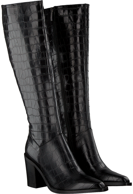 Schwarze NOTRE-V Hohe Stiefel AH183 FORMA 802418 FONDO TACCO  - large