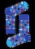 Schwarze HAPPY SOCKS Socken BIG DOT - small