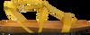 Gelbe FRED DE LA BRETONIERE Espadrilles 170010065  - small