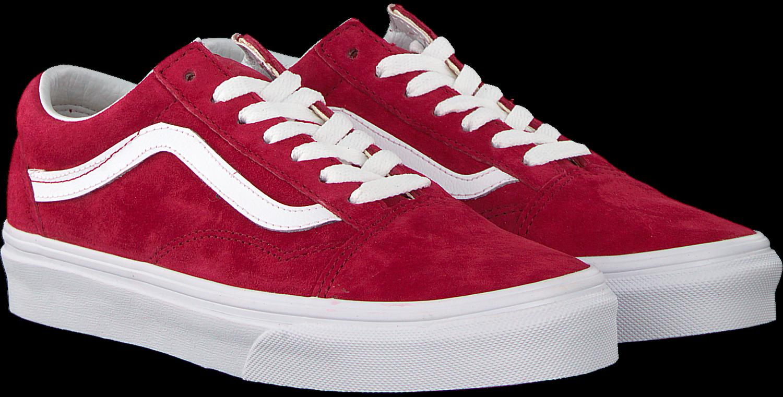 de098875f6 Rote VANS Sneaker OLD SKOOL OLD SKOOL - Omoda.de