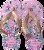 Goldfarbene HAVAIANAS Pantolette FLORES KIDS  - small