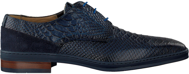 Blaue GIORGIO Business Schuhe 83202  - large