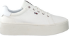 Weiße TOMMY HILFIGER Sneaker low TOMMY JEANS FLATFORM  - small
