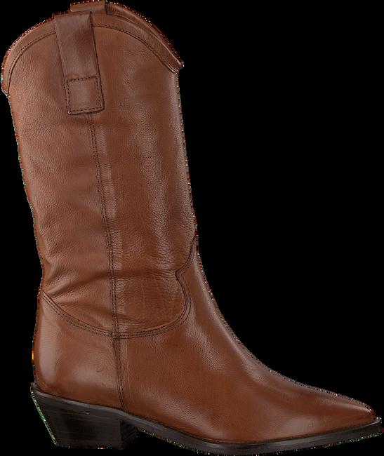 Cognacfarbene OMODA Hohe Stiefel 00197  - large