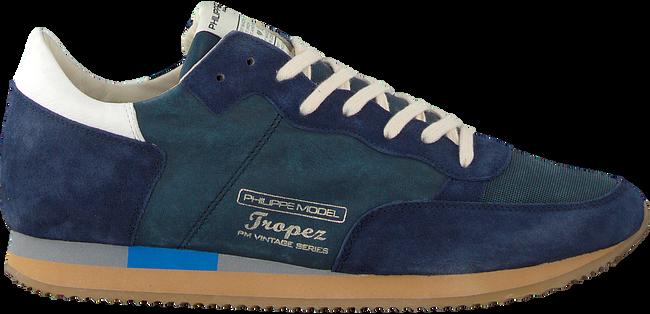 Blaue PHILIPPE MODEL Sneaker TROPEZ VINTAGE  - large