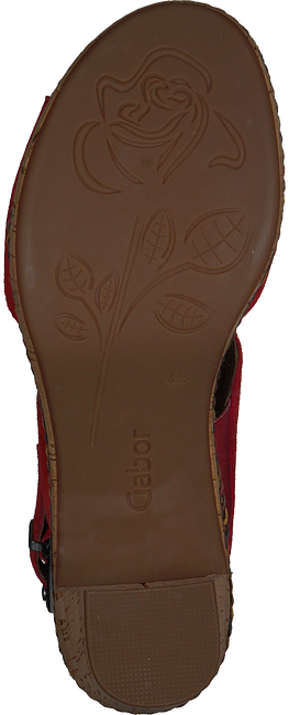 Rote GABOR Sandalen 777 - large