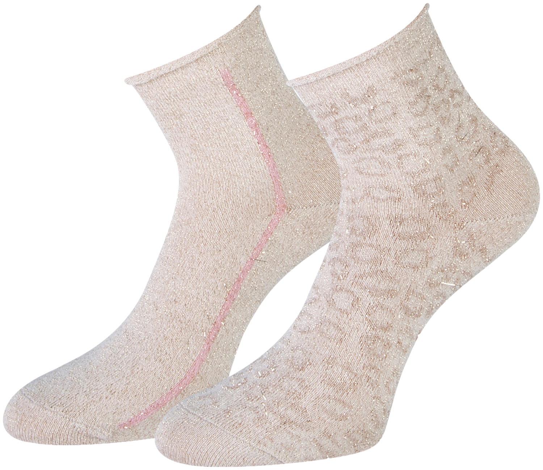 Beige MARCMARCS Socken AMY COTTON 2-PACK iR40c