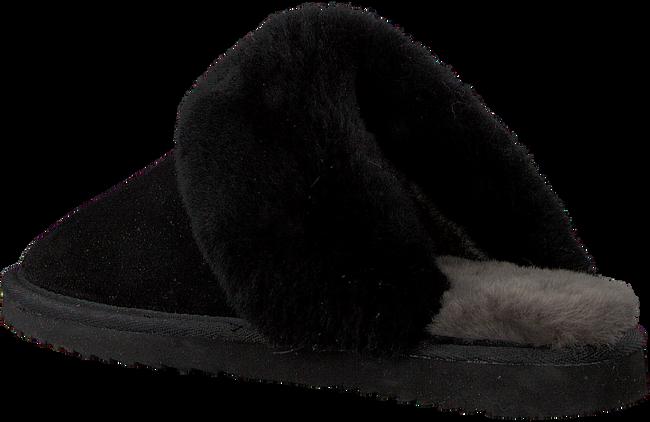 Schwarze WARMBAT Hausschuhe FLURRY WOMEN SUEDE - large