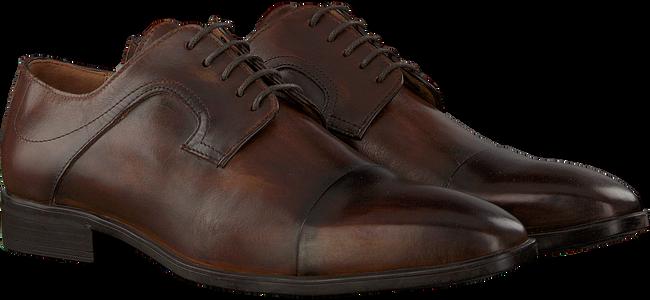 Cognacfarbene MAZZELTOV Business Schuhe 3817  - large