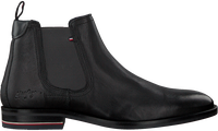 Schwarze TOMMY HILFIGER Chelsea Boots SIGNATURE HILFIGER CHELSEA  - medium