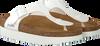 Weiße BIRKENSTOCK Pantolette GIZEH REGULAR  - small