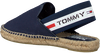 Blaue TOMMY HILFIGER Espadrilles CHUNKY TAPE SLINGBACK  - small