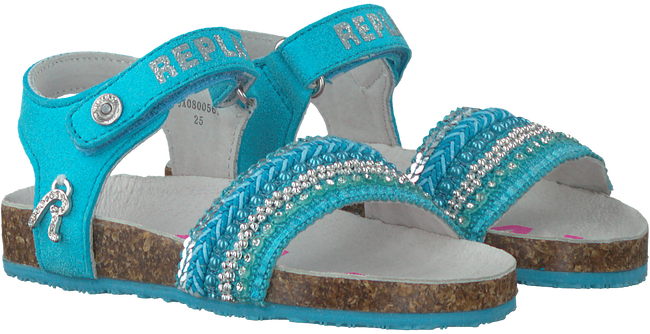 Blaue REPLAY Sandalen GRETA - large