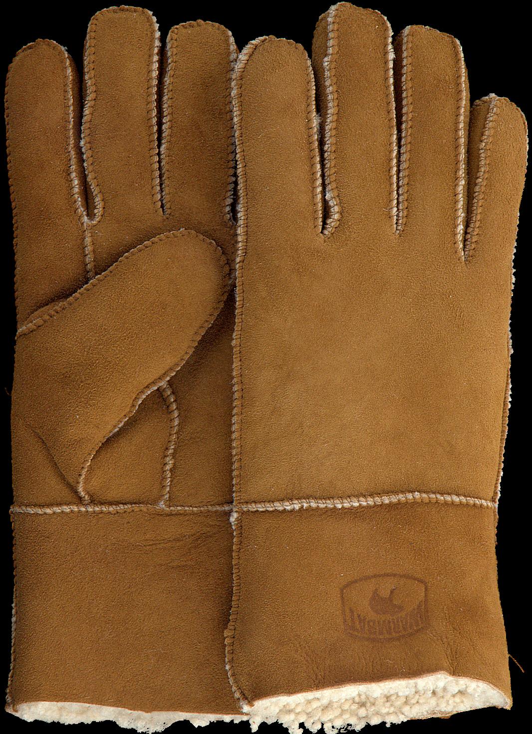 Cognacfarbene WARMBAT Handschuhe GLOVES WOMEN TeGGK