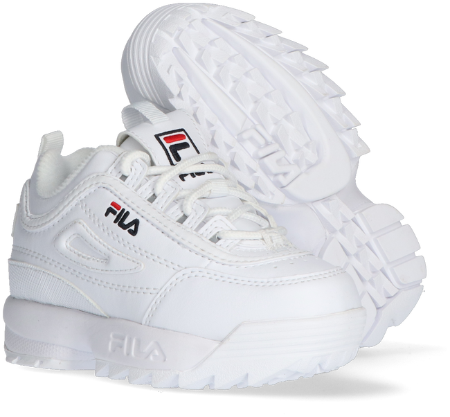 Weiße FILA Sneaker low DISRUPTOR INFANTS  - large