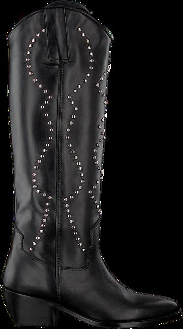 Schwarze DEABUSED Hohe Stiefel DEA-60  - large