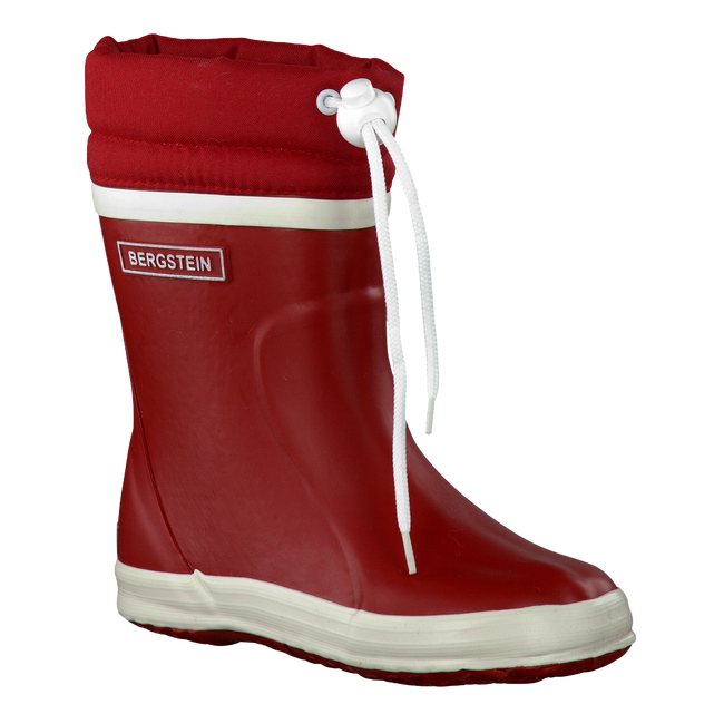 Rote BERGSTEIN Gummistiefel WINTERBOOT - large