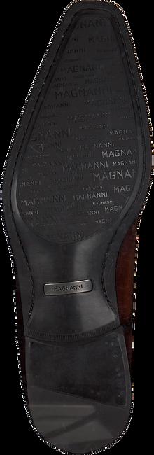 Cognacfarbene MAGNANNI Business Schuhe 19531/  - large