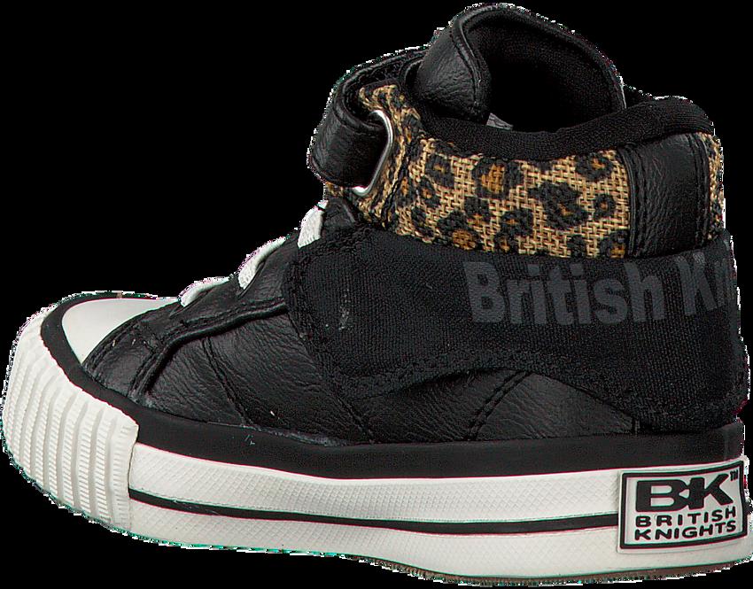 Schwarze BRITISH KNIGHTS Sneaker ROCO - larger