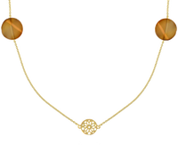 Goldfarbene JEWELLERY BY SOPHIE Kette NECKLACE DESERT - medium