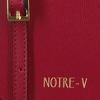 Rote NOTRE-V Umhängetasche MARIE  - small