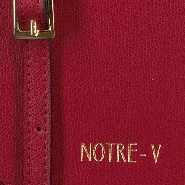 Rote NOTRE-V Umhängetasche MARIE  - large