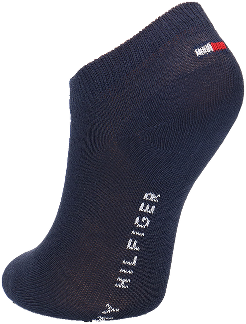 Blaue TOMMY HILFIGER Socken TH CHILDREN SNEAKER 2P - large
