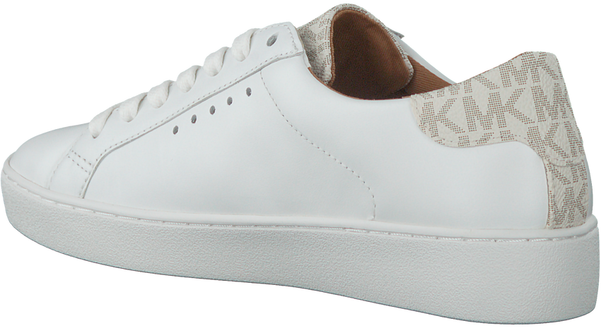 Weiße MICHAEL KORS Sneaker IRVING LACE UP - larger