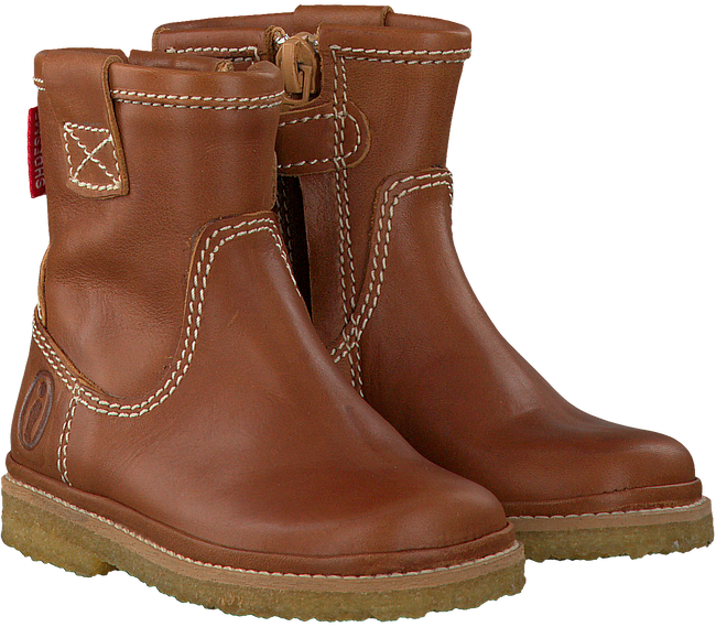 Cognacfarbene SHOESME Ankle Boots BC7W050 - large